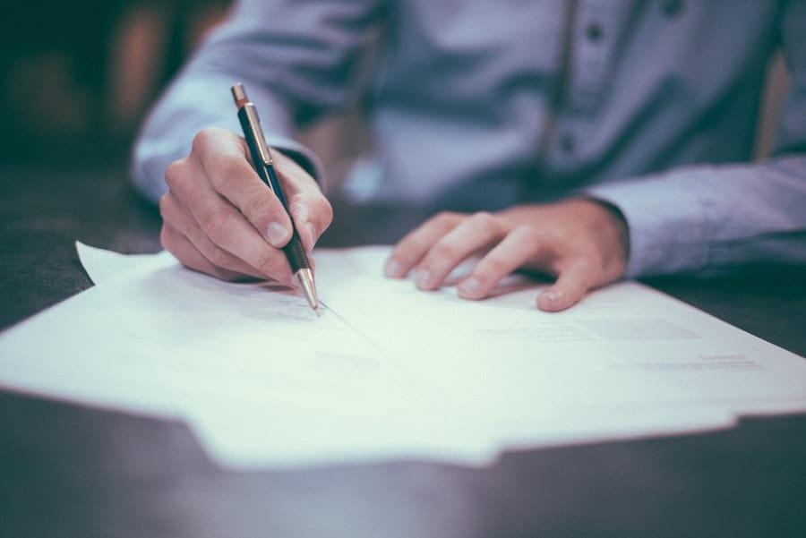 Recherche de documents lors de l'enquête de solvabilité