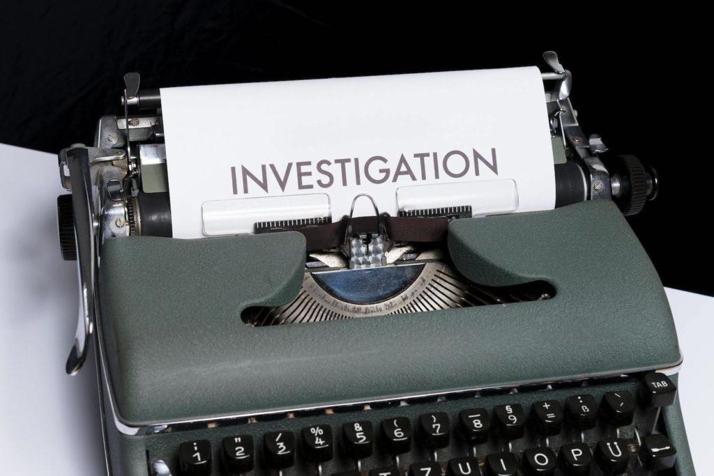 rapport d'un detective privé